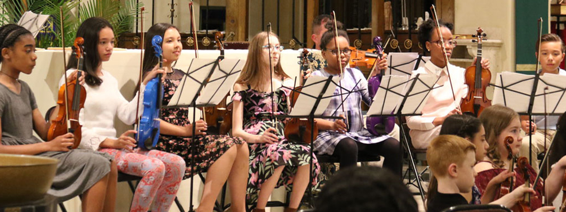 students at music performance
